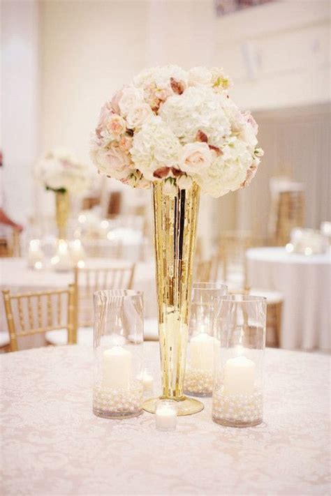 17 best ideas about gold wedding centerpieces on