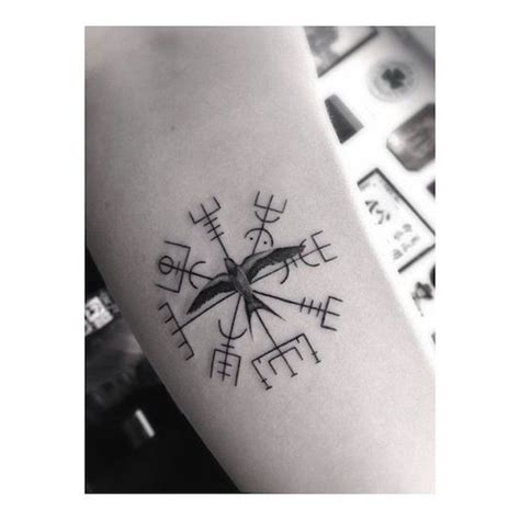compass tattoo meaning on forehead viking compass by dr woo tattoo artist los angels t