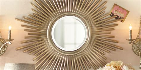 aura home design gallery mirror 12 best sunburst mirrors in 2017 decorative small and