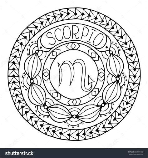 zodiac mandala coloring pages 17 best images about colouring zodiac signs on