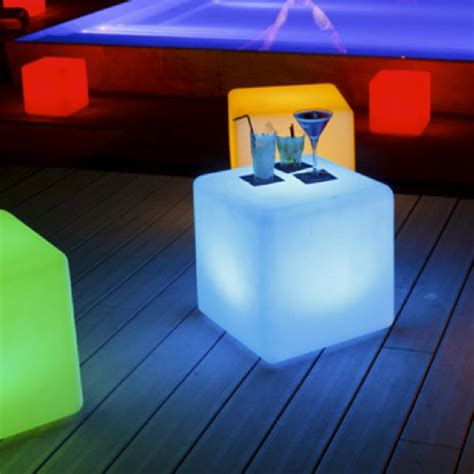 outdoor rechargeable lights space lighting rechargeable cube patio lights outdoor