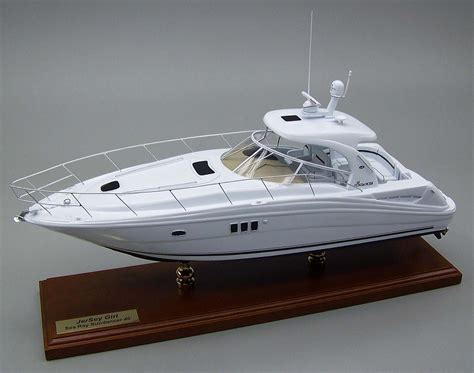 sea ray build a boat sea ray custom replica models scale model sea ray yachts