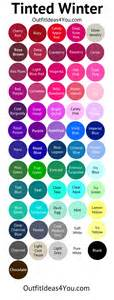 cool winter color palette cool winter color palette tinted winter jen thoden