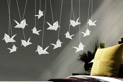 Origami Flying Swan - origami je蝎 225 bi zbo蠕 237 prodejce fugu design fler cz