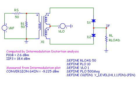 diode mixer circuit single balanced diode mixer 28 images balanced diode mixer circuit wiring diagram free