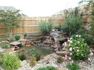 Landscape Design In Landscape Design Water Gardens Water Features Koi Ponds