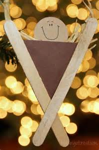 Popsiscle Stick Nativity Craft Idea For Kids Pictures to pin on