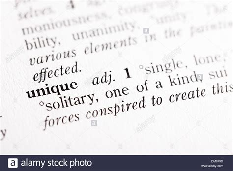 unique means dictionary definition of quot unique stock photo royalty free