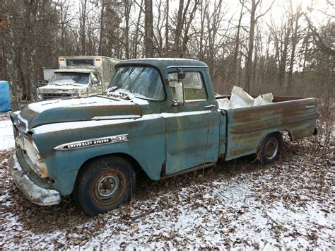 chevy truck bed for sale 1958 chevrolet apache 32 fleetside long bed truck
