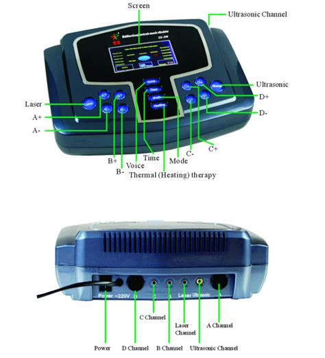 Electrotherapy Physiotherapy Pulse Massager Stimulator Voicet portable modern electronic ems tens stimulator