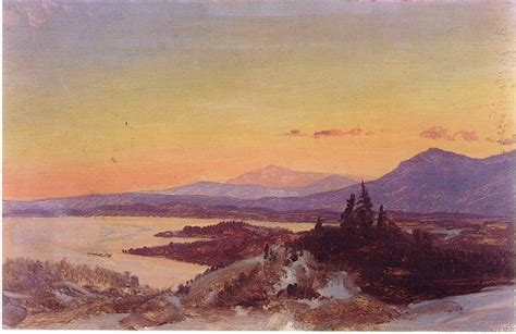 Bor Freder olana walking into frederic church s hudson river school