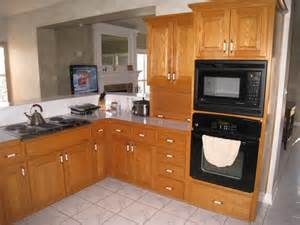 kitchen modern white oak: collection what color granite countertops with oak cabinets pictures