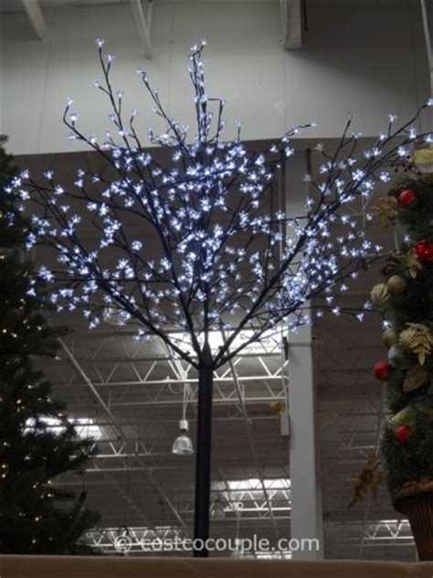 costco white lights led blossom tree