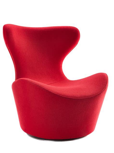 modrest hadrian modern red fabric accent chair