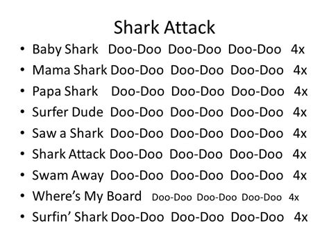 baby shark lyrics meaning responsive classroom 2 songs ppt download