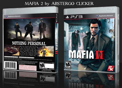 Mafia Ii Ps3 Cd mafia 2 playstation 3 box cover by abstergoclicker