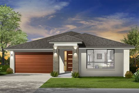 Contemporary Open Floor Plans by Seachange Single Storey Marksman Homes Illawarra And