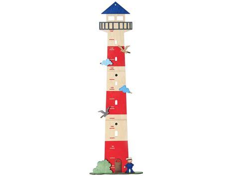 kinderzimmer bild leuchtturm messlatte aus holz quot leuchtturm quot olli olbot 87x21 5x3 cm