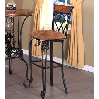 Crown Royal Bar Stools by Crown Alyssa Upholstered Seat Metal Bar Stool With