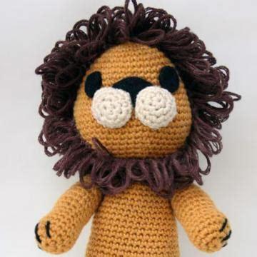 free crochet pattern amigurumi lion tremblay the lion free amigurumi pattern