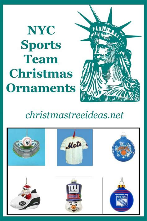 new york city sports teams christmas ornaments christmas