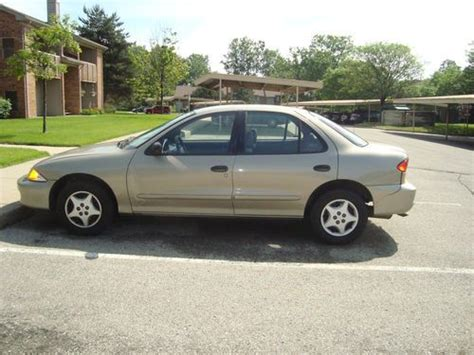 2001 Cavalier 4 Door by Purchase Used 2001 Chevrolet Cavalier Base Sedan 4 Door 2