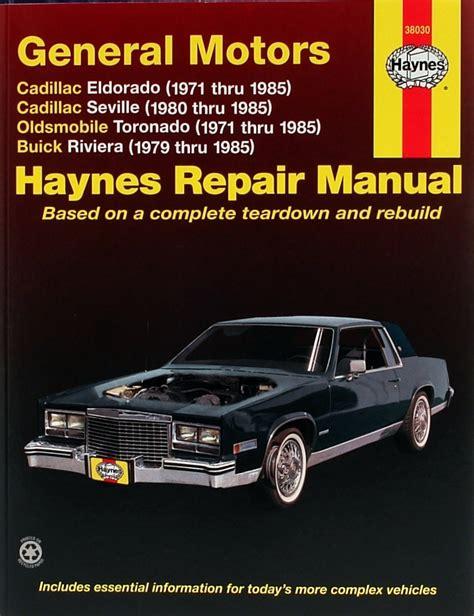 car engine manuals 1986 buick riviera auto manual cadillac eldorado cadillac seville oldsmobile toronado buick riviera motorboken se