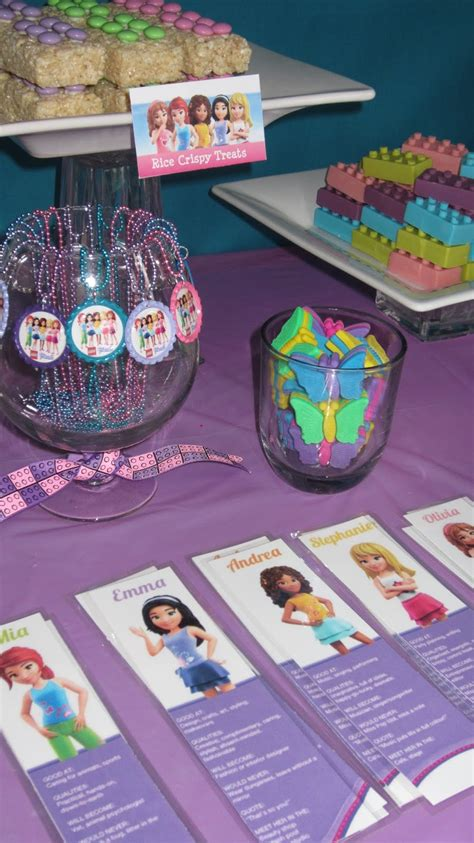 party   beech emilys lego friends birthday party