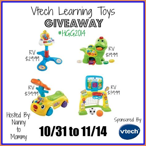 Giveaway Toys - vtech learning toys giveaway