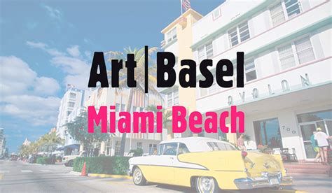 3 places in the world art basel puts the art in party ken gorin on art basel miami beach 2017 the official