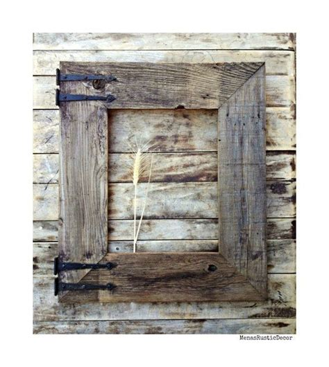 barn wood home decor 1000 ideas about wood frames on pinterest rustic