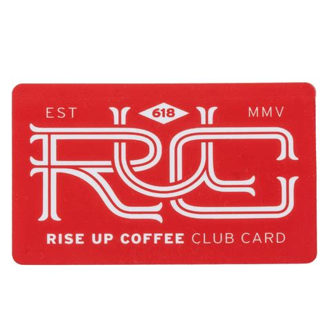 Roasters Coffee Gift Card - rise up gift card rise up coffee roasters