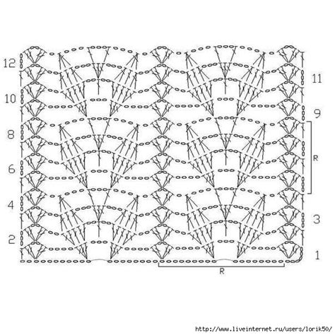 crochet pattern and diagram the best in internet crochet diagram patterns