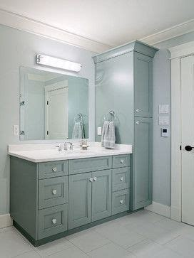 bathroom vanity with tall cabinet master bath vanity and tall cabinet reno