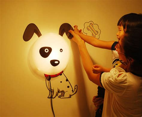 Childrens Bedroom Wall Lights Discount 2015 New Wallpaper Stickers Paper Wall L Novelty Kid Baby Bedroom 3d