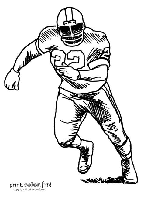 Nfl Football Player Drawings   Free download on ClipArtMag