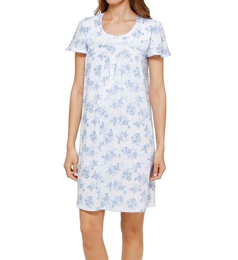 Flowery Sleepwear flowery sleeve nightgown 8014954
