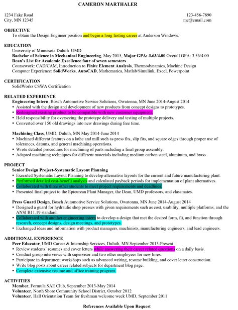 Resume Writing Key Strengths strengths on resume