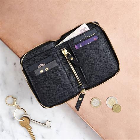 Zip Up Wallet luxury zip up wallet by vida vida notonthehighstreet