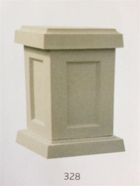 Small Pedestal small square pedestal choice of garden features at