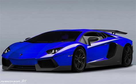 Lamborghini Blue Lamborghini Aventador Blue Wallpaper Auto Motor Sport