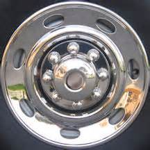 Trailer Tire Hub Cover Trailer Wheel Simulator Hubcaps Stainless