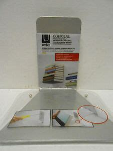 umbra conceal floating book shelf conceal invisible shelf wall mount floating bookshelf book