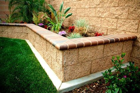 brick planter garden inspiration pinterest