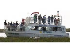 boat rental rockport whooping crane boat cruise in rockport tx tours