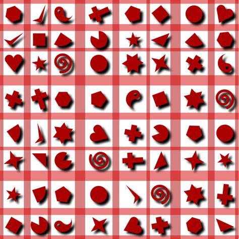shape pattern clipart clipart shapes pattern 2