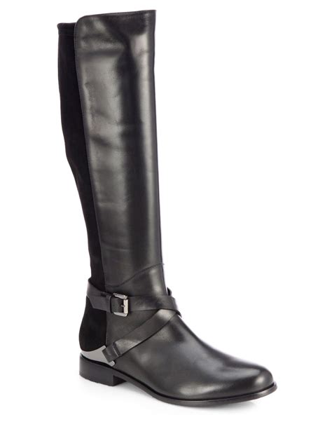 aquatalia by marvin k darla suede and leather boots