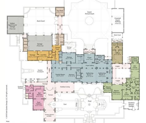 luxury estate floor plans mega mansion house plans http acctchem com mega