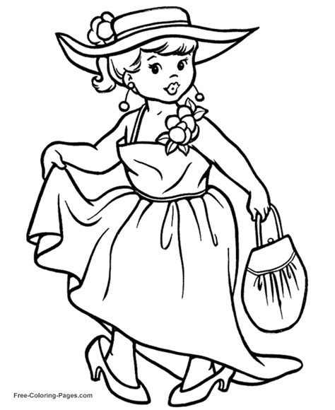 Princess Coloring Pages 10 Princess Black And White Coloring Pages Printable