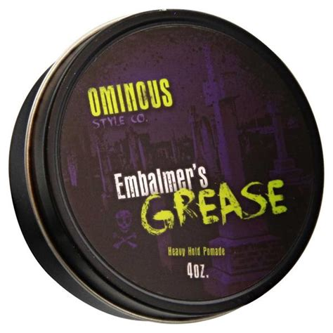 Pomade Murray Heavy Hold embalmer s grease heavy hold pomade
